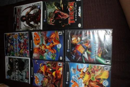 7 jogos games cube 600 reais lote
