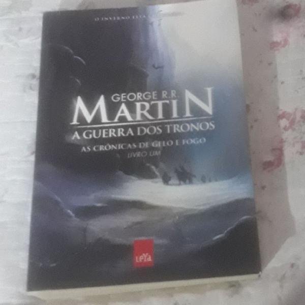 """A guerra dos tronos """" as crônicas de gelo e fogo"""""""