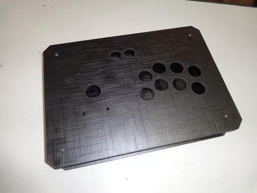 Caixa controle arcade tgm mod10 + acrílico 2mm