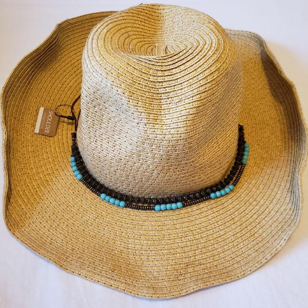 Chapéu de praia shoulder