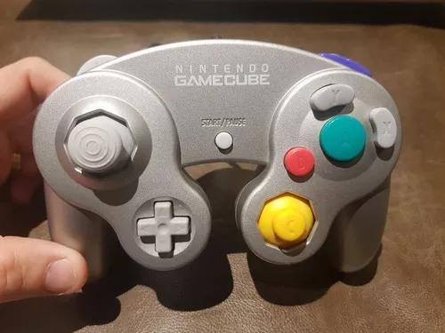 Controle nintendo gamecube original zerado!