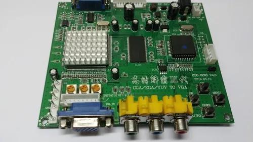 Conversor de cga / rgb para vga / lcd para fliperama boliche