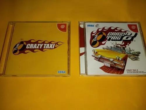 Crazy taxi 1 e 2 originais de dreamcast