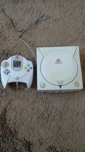 Dreamcast um controle e 5 jogos