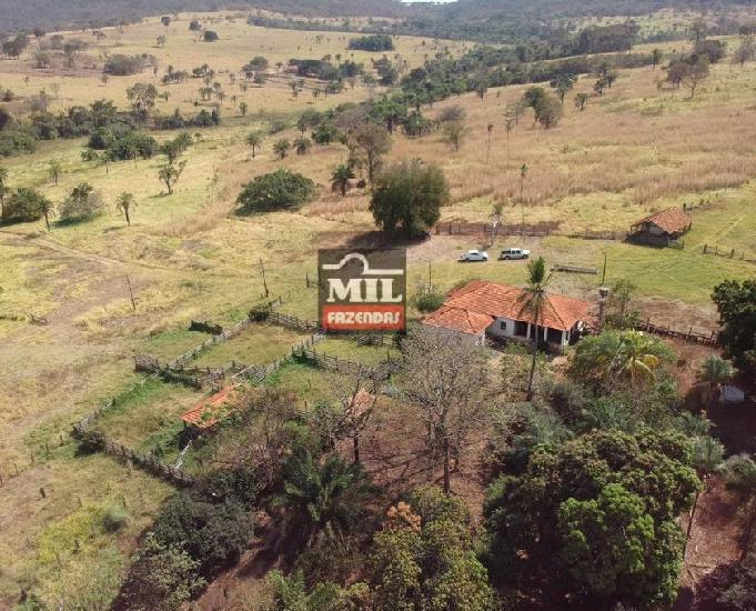 Fazenda cultura 90 alqueires (435 hectares) jandaia-go