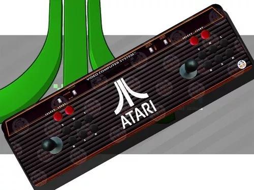 Fliperama portátil arcade atari óptico +13 mil jogos 64g
