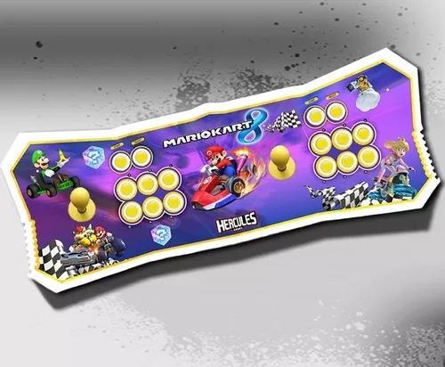 Fliperama portátil arcade new 7 mil jogos - hercules games