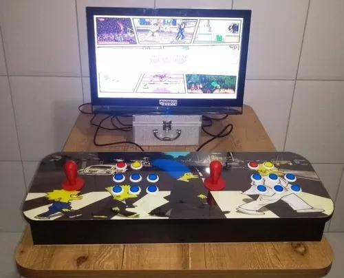 Fliperama portátil multi jogos arcade