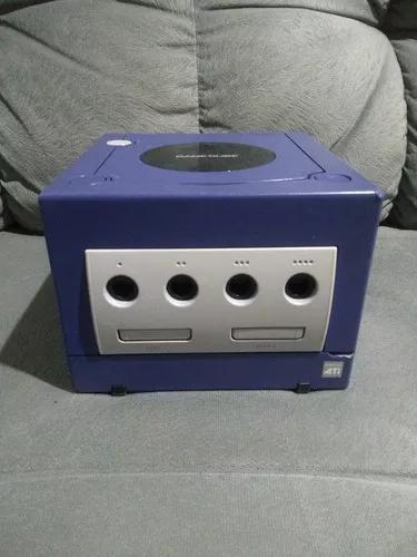 Game cube azul índigo - funcionando