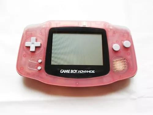 Gba game boy advance rosa translúcido (nintendo)
