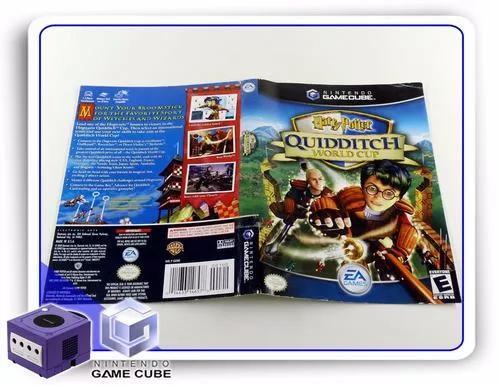 Gc encarte harry potter quidditch world cup origin. gamecube