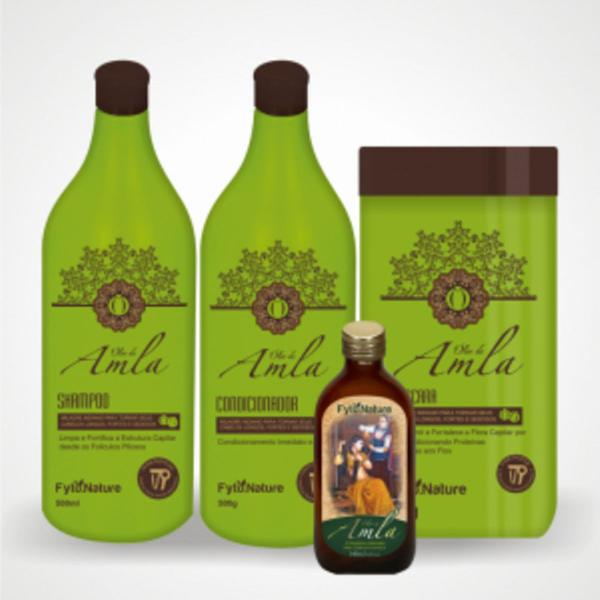 Kit amla fortalecimento e crescimento 4 produtos