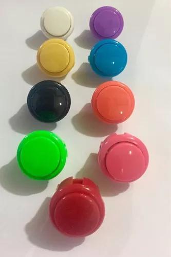Kit botoes paralelo 30mm/ 24mm (10 botoes)