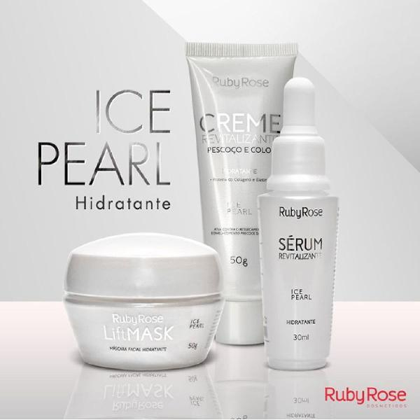 Kit ice pearl linha facial - ruby rose