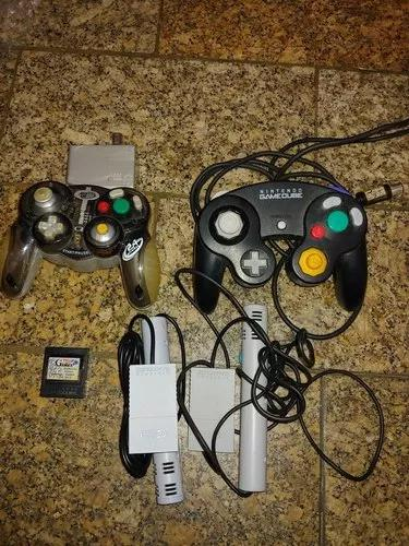 Lote game cube, 2 controles 1 m
