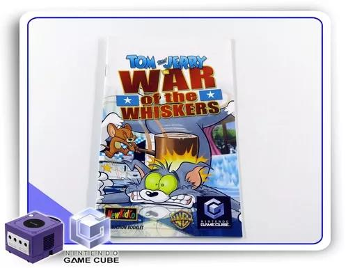 Manual tom and jerry in war of the whiskers orig. gamecube