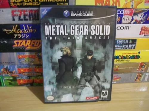 Metal Gear Solid Twin Snakes Completo! Raríssimo! Game Cube