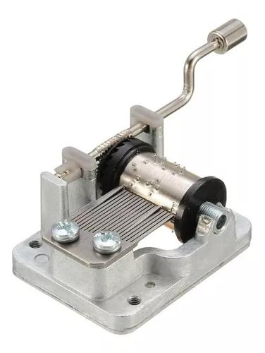 Mini mão cranking música caixa máquina núcleo movimento