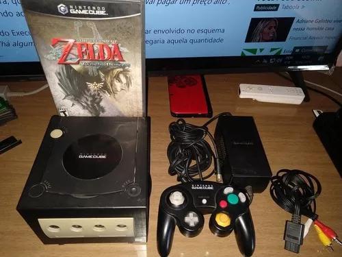 Nintendo game cube + zelda twilight princess
