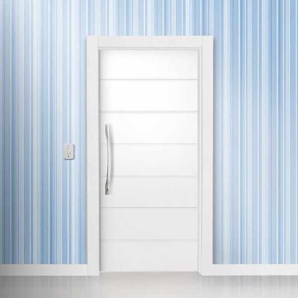 Porta externa blindada resistente a umidade