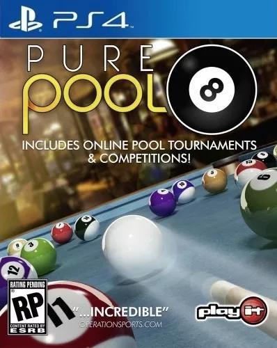Pure pool (sinuca / bilhar) - ps4 - lacrado + frete grátis!