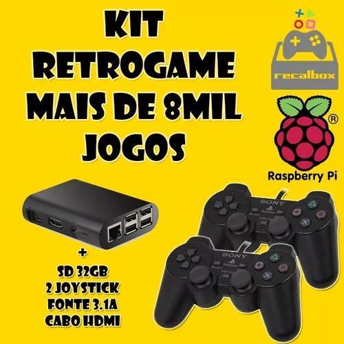 Retrogame recalbox - 2 controle joystick usb