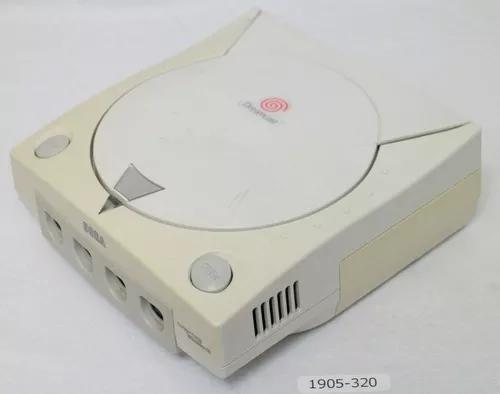 Sega dreamcast só console funcionando perfeitamente
