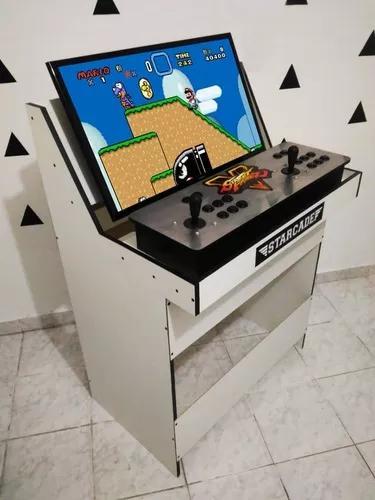 Suporte base mesa apoio arcade fliperama portátil e tela