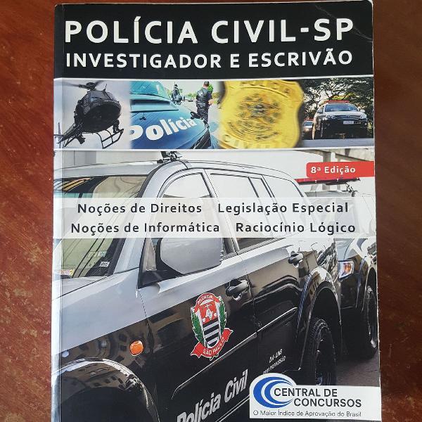 Apostila polícia civil de são paulo investigador e