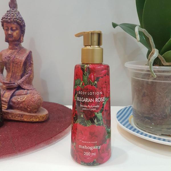 Body lotion bulgarian rose mahogany