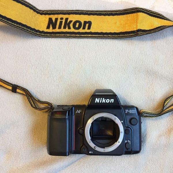 Câmera analógica nikon f801