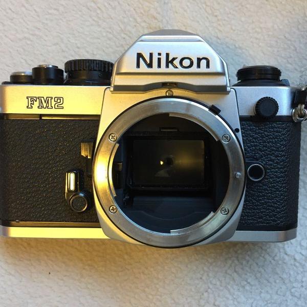 Câmera analógica nikon fm2
