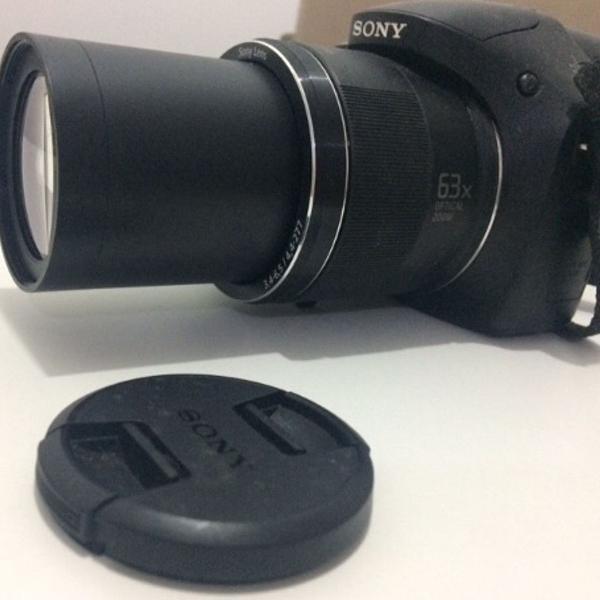 Câmera fotográfica cyber shot semiprofissional