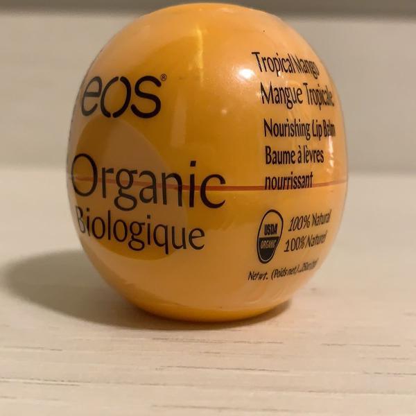 Eos lip balm organic tropical mango 100% natural