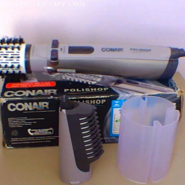Escova rotativa air brush conair polishop original