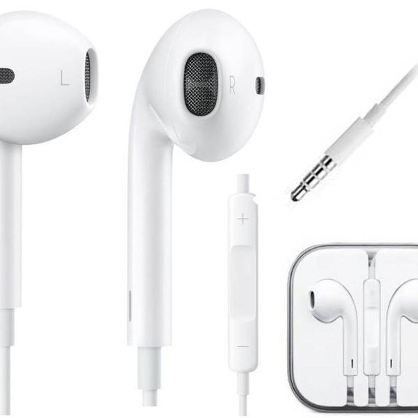 fone apple earpods, entrada p2 iphone 5 iphone 6 iphone 6s*