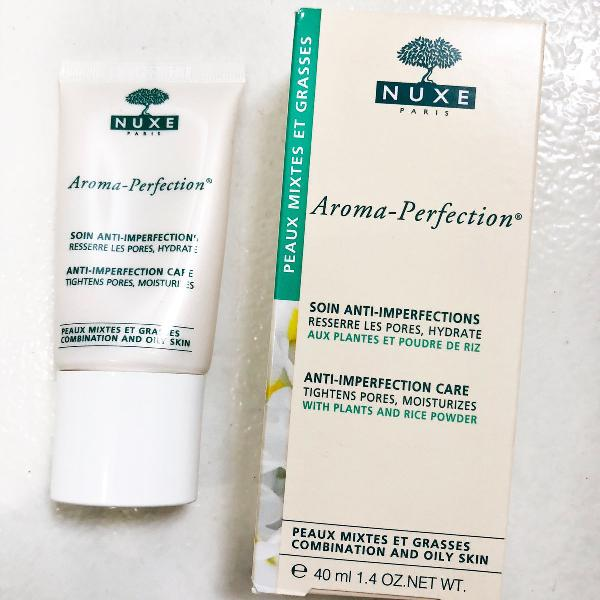 Hidratante anti imperfeições nuxe pele oleosa/mista