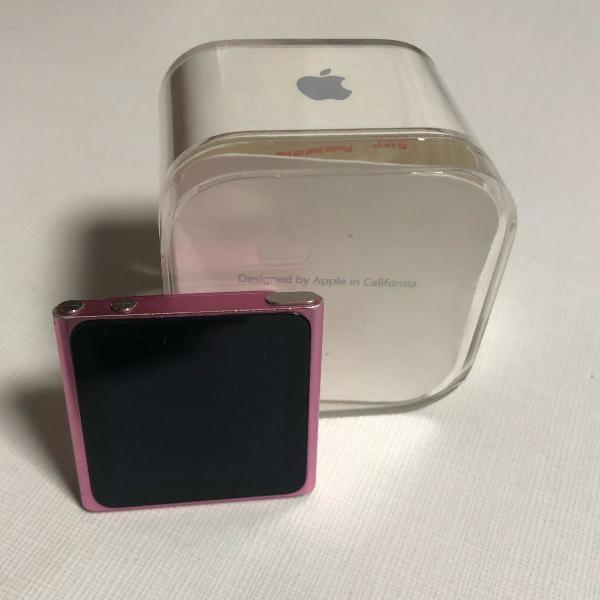 Ipod nano 8g, acompanha fone e carregador originais, caixa e