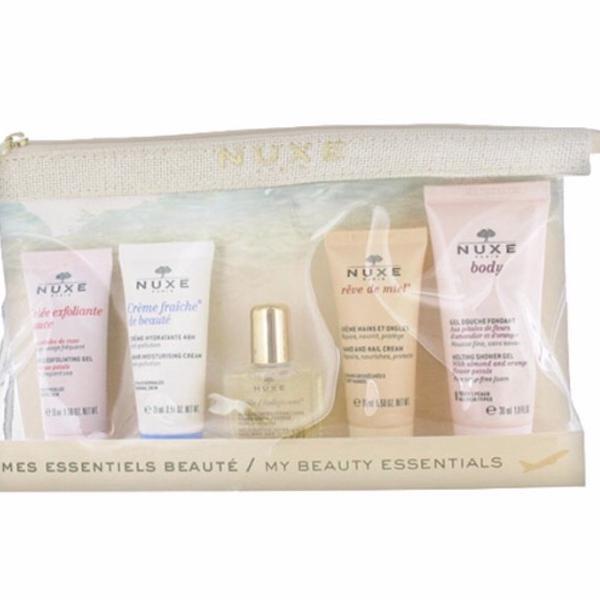 Kit beleza produtos essenciais nuxe