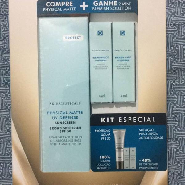 Kit protetor solar skinceuticals physical matte fps50 30ml +
