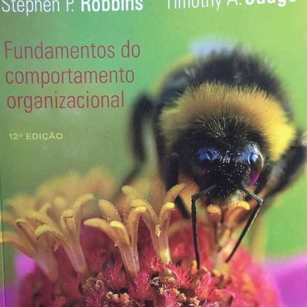 Livro fundamentos do comportamento organizacional