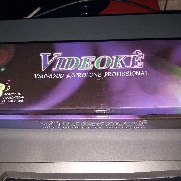 Microfone karaoke raf 3700 na caixa original