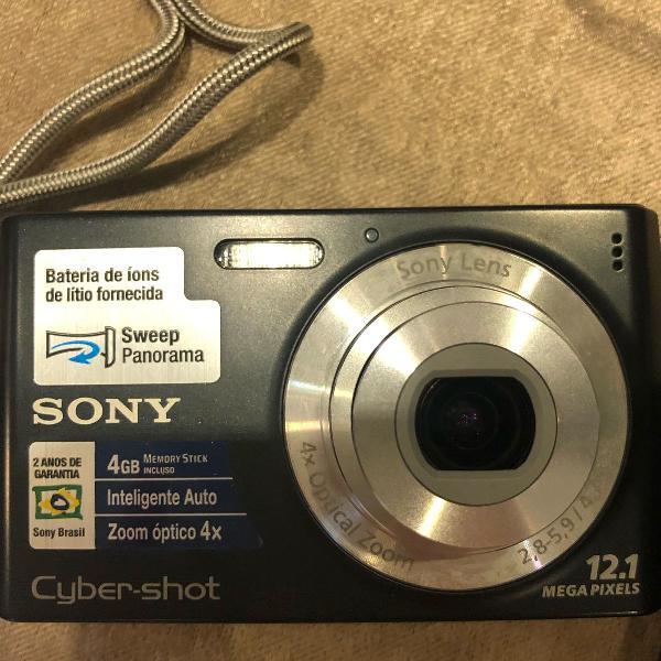 Máquina fotográfica sony cyber shot 12.1 mega pixels 4gb