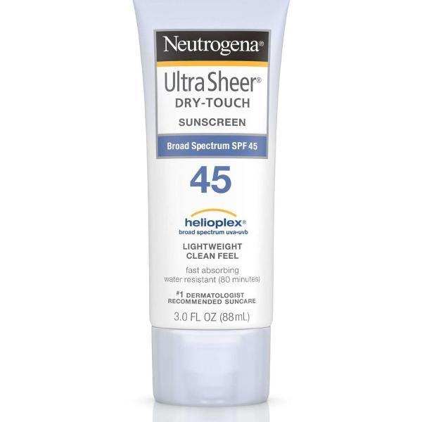 protetor solar neutrogena ultra sheer dry-touch spf 45