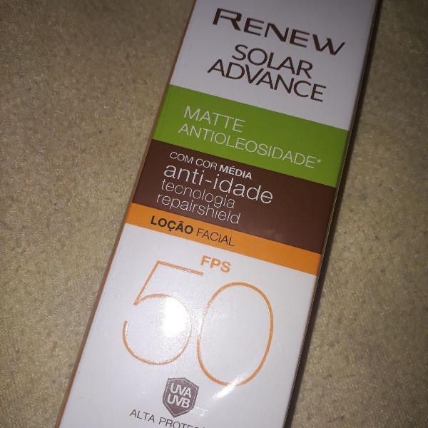 Renew protetor solar 50