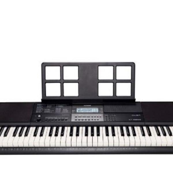 Teclado arranjador digital musical cassio ctx-800+suporte de
