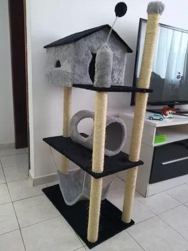 Aranhador apartamento de 3 andares para gatos