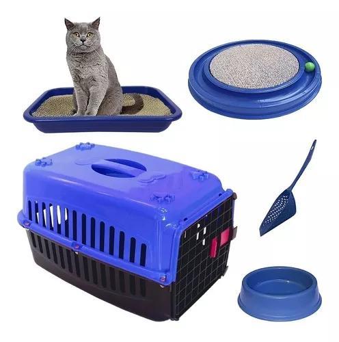 Arranhador gatos caixa areia bebedouro caixa transporte pá