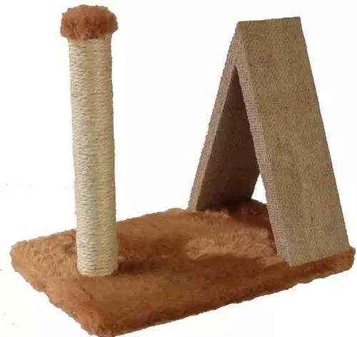 Arranhador mini poste com triângulo