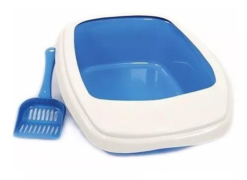 Banheiro Gato Bandeja Areia Sanitária Higienica C/ Pazinha